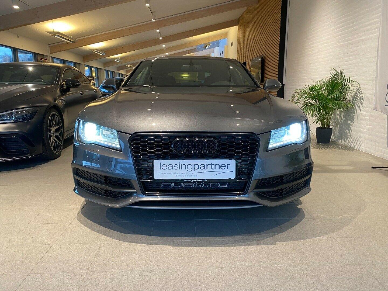 Audi A7 3,0 TDi 313 SB quattro Tiptr. 5d, Koks