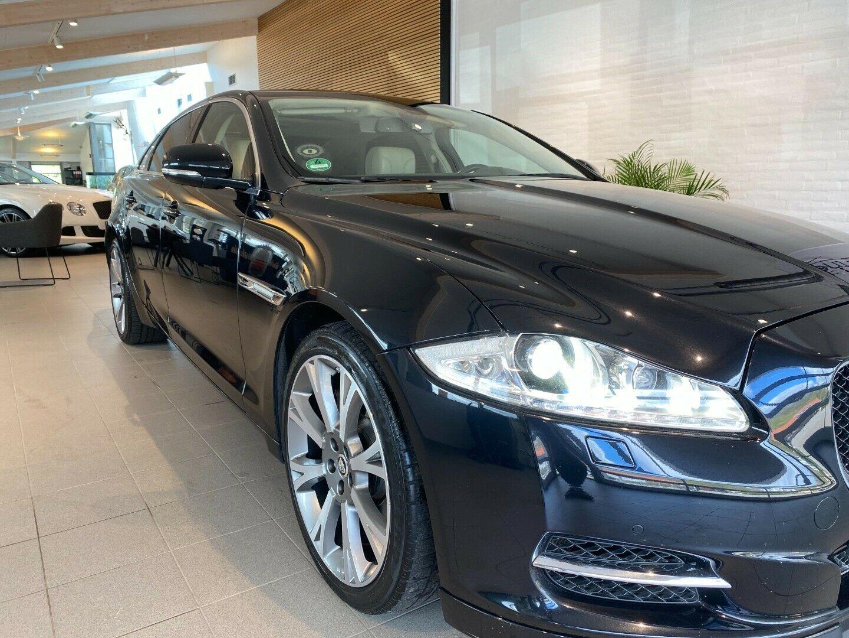 Jaguar XJ 3,0 D V6 Premium Luxury aut. LWB 4d, Sort