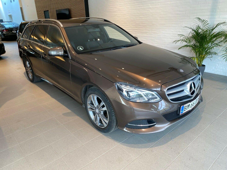 Mercedes E220 2,2 CDi Avantgarde stc. aut. 5d,