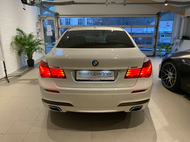 BMW 740d 3,0 xDrive aut. 4d, Hvid