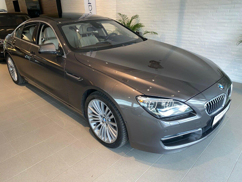 BMW 640i 3,0 Gran Coupé aut. 4d, Bronzemetal