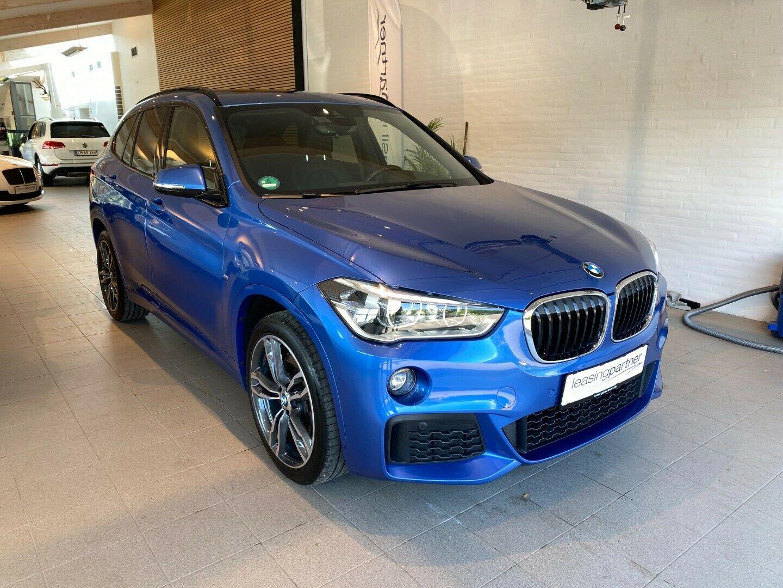 BMW X1 2,0 xDrive20d aut. 5d, Blåmetal