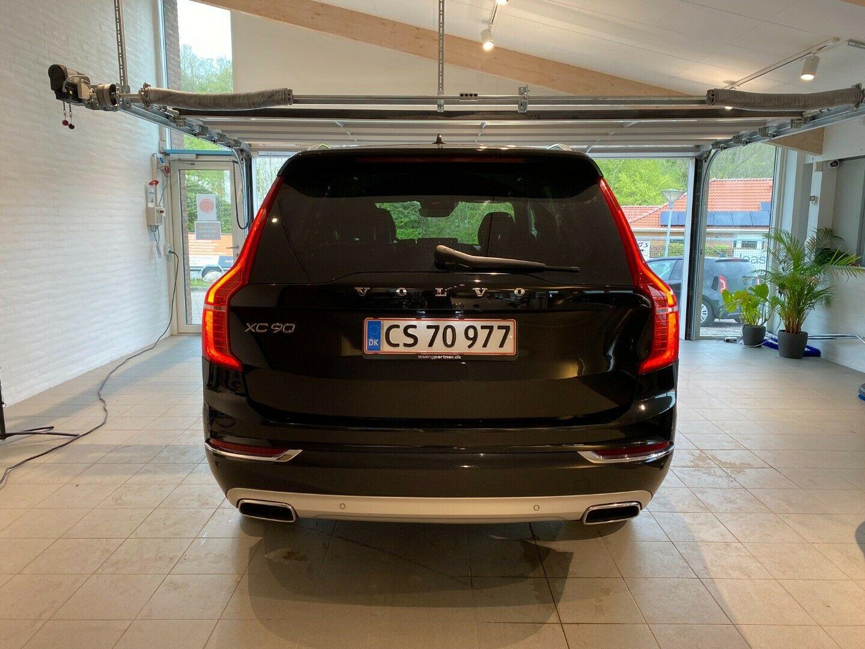 Volvo XC90 2,0 D4 190 Inscription aut. AWD 7prs 5d, Sort