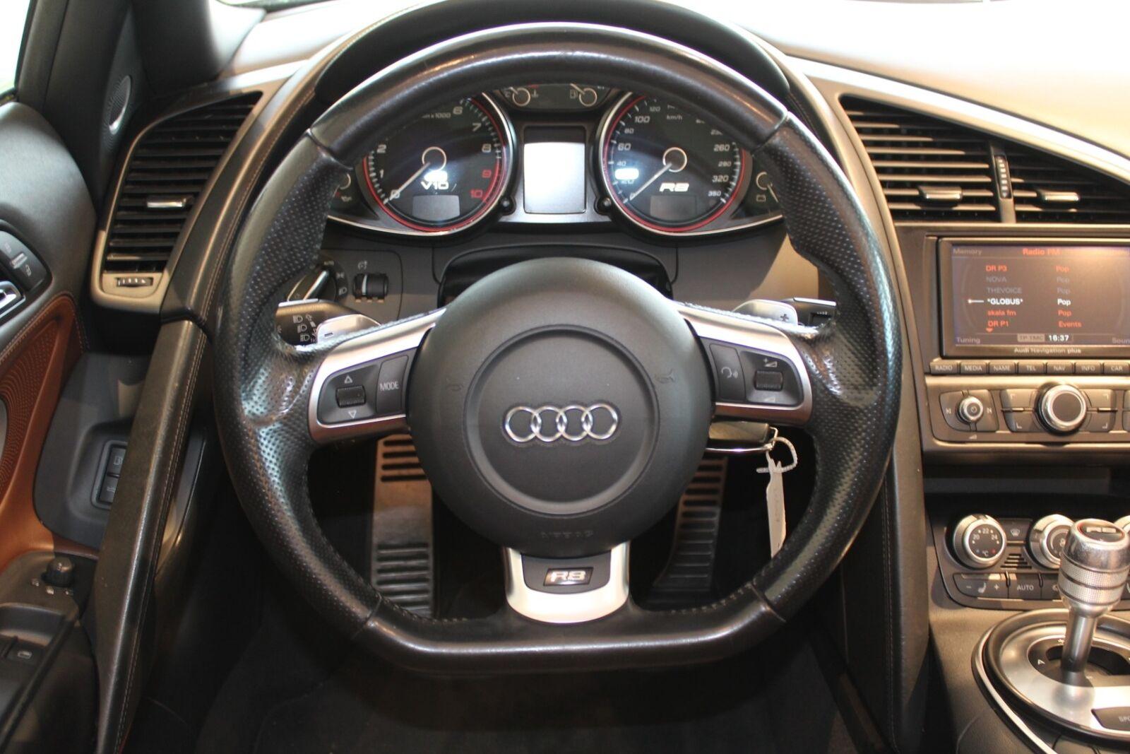 Audi R8 5,2 FSi Spyder quattro R-tr. 2d,