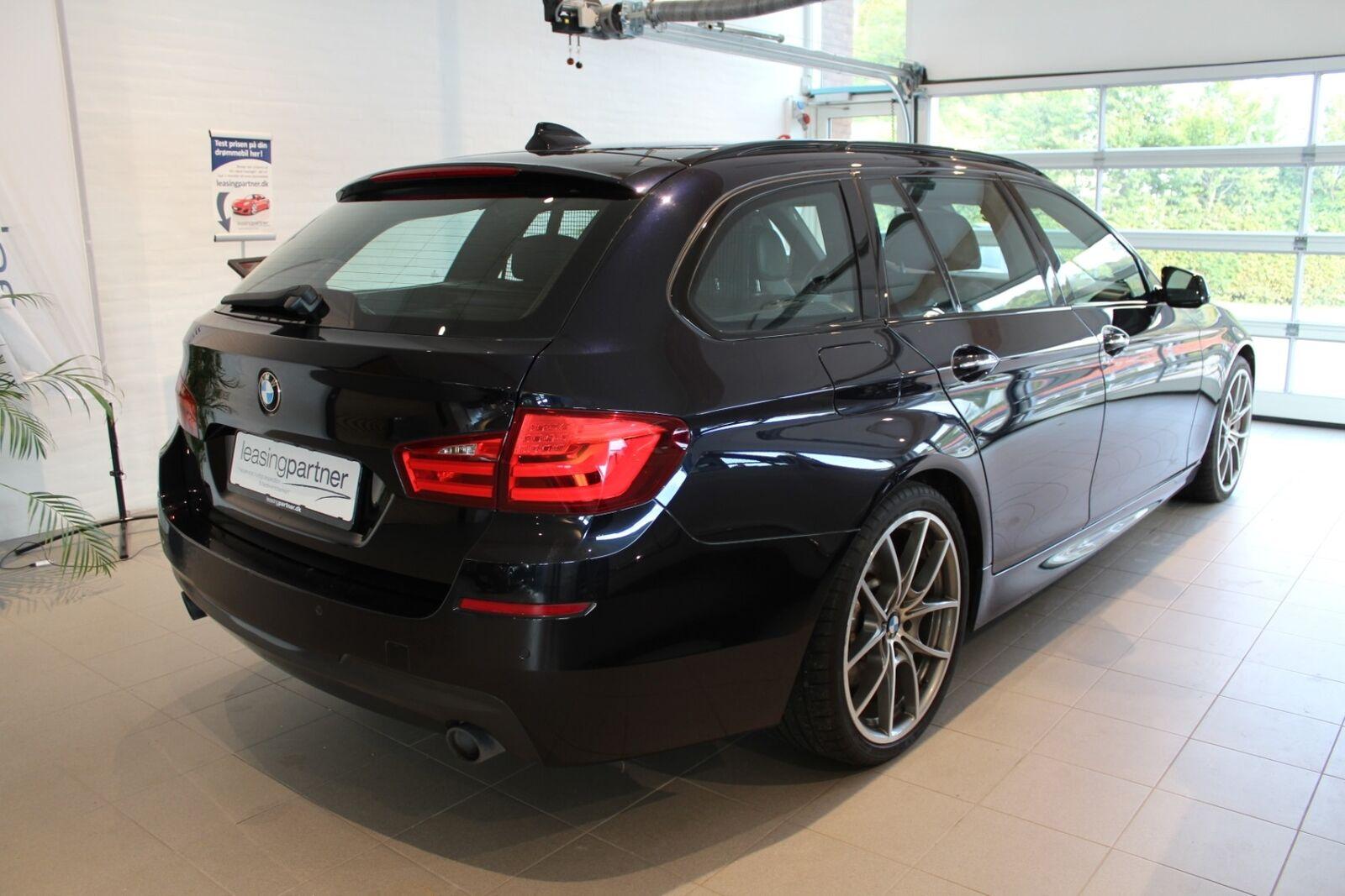 BMW 535d 3,0 Touring M-Sport xDrive aut. 5d, Mørkblåmetal