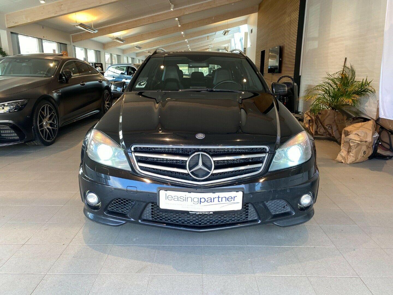 Mercedes C63 6,3 AMG stc. aut. 5d, Sort