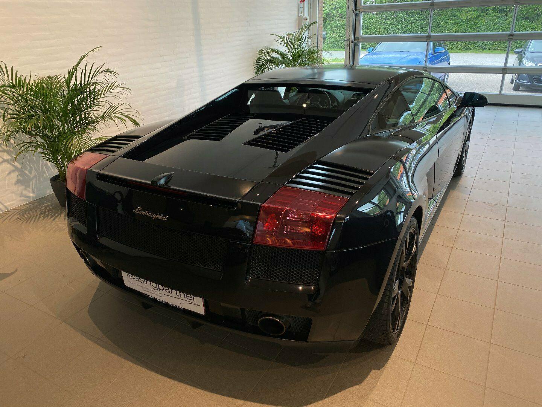 Lamborghini Gallardo 5,0 E-gear 2d, Sort