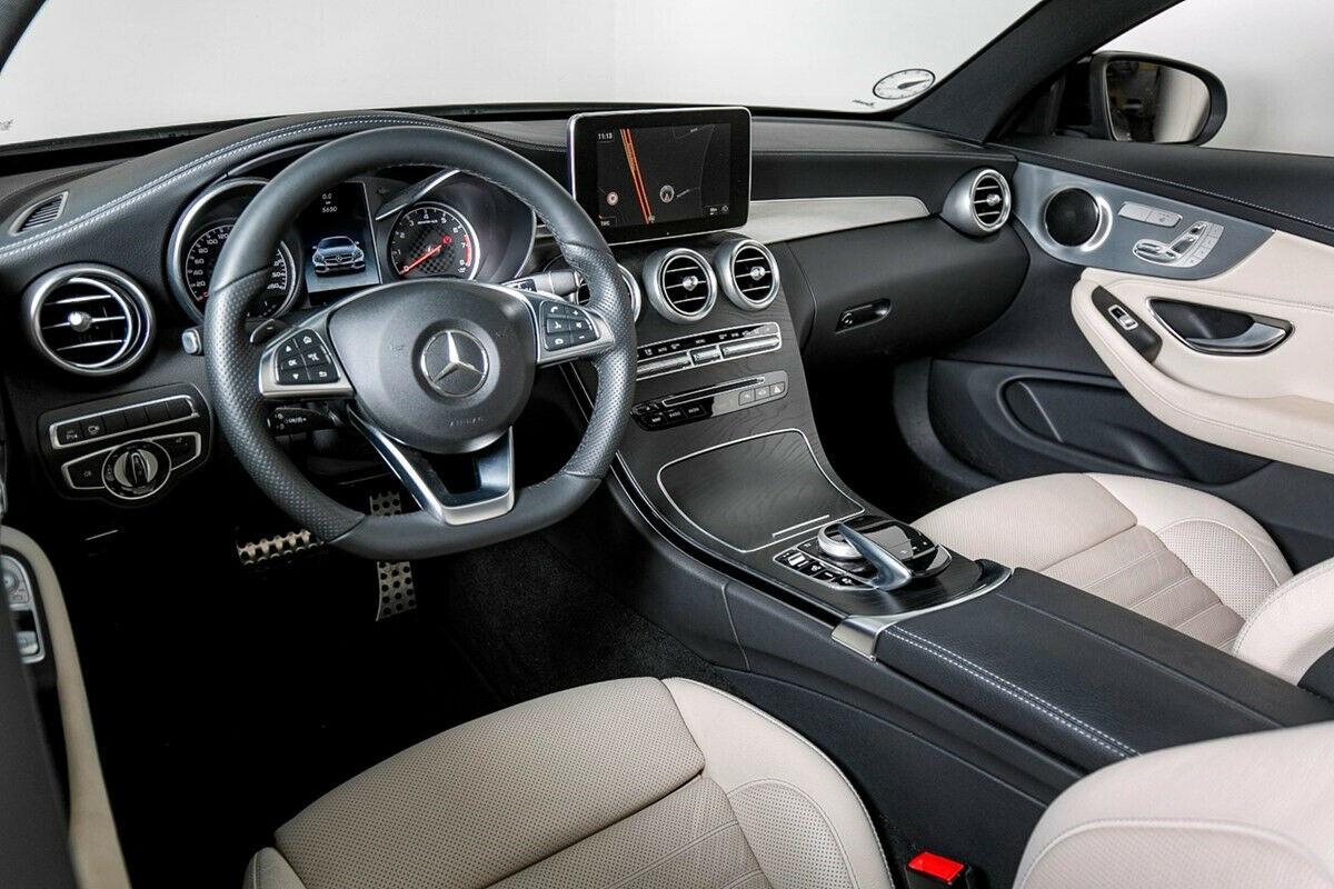 Mercedes C43 3,0 AMG Coupé aut. 4Matic 2d, Blåmetal