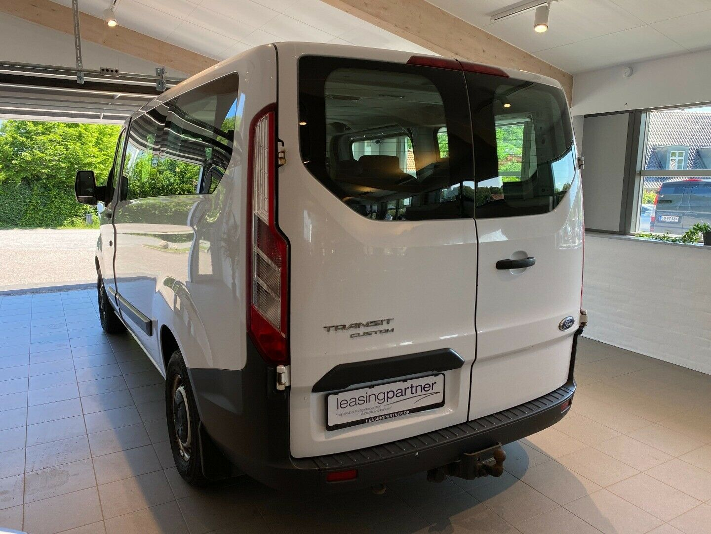 Ford Transit Custom Kombi 310S 2,2 TDCi 100 Ambiente 5d, Hvid