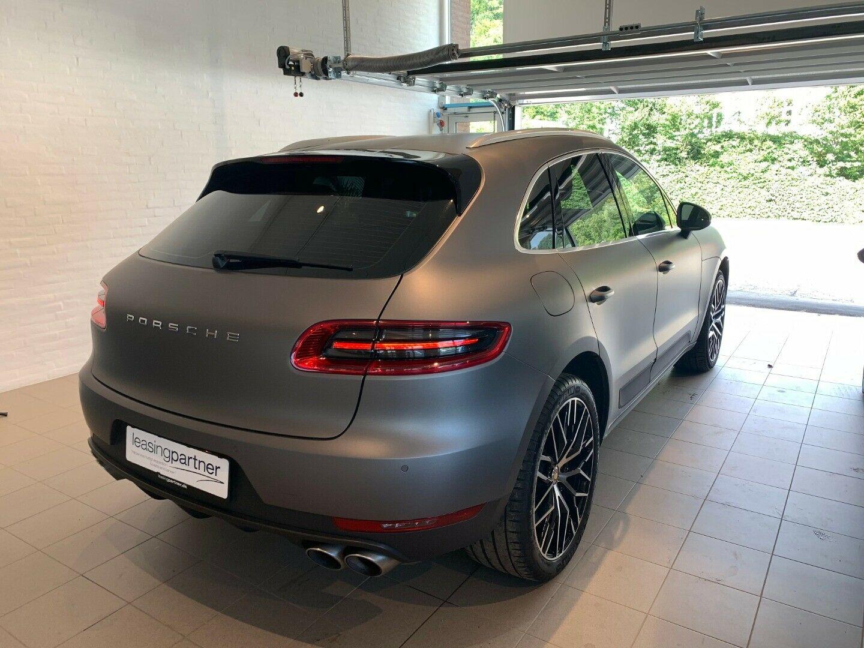 Porsche Macan S 3,0 D PDK 5d, Gråmetal