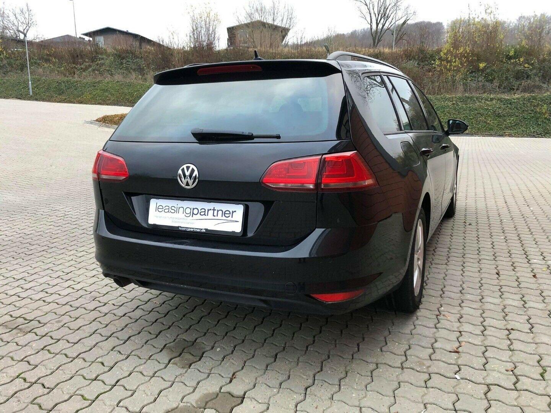 VW Golf VII 1,6 TDi 110 Comfortline Vari. BMT 5d, Sort