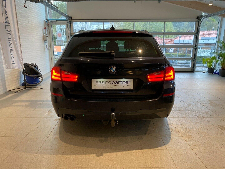 BMW 530d 3,0 Touring aut. 5d, Mørkblå
