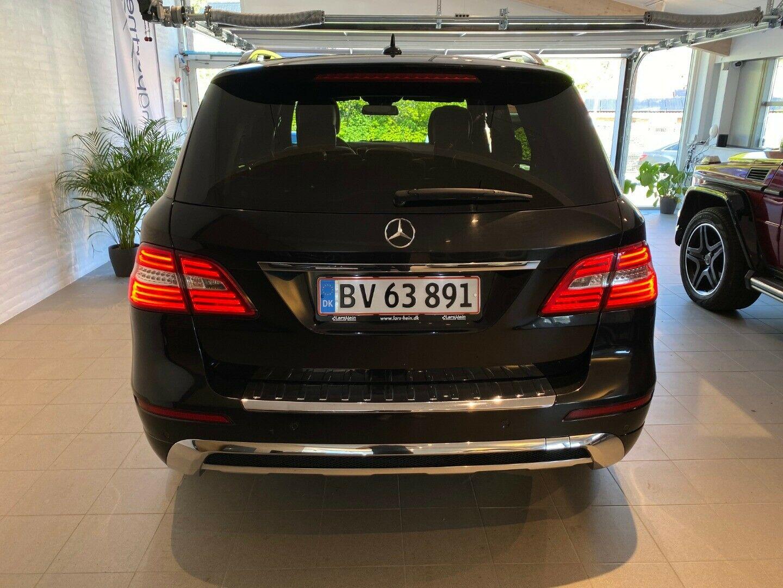Mercedes ML350 3,0 BlueTEC AMG Line aut. 4-M 5d, Sort