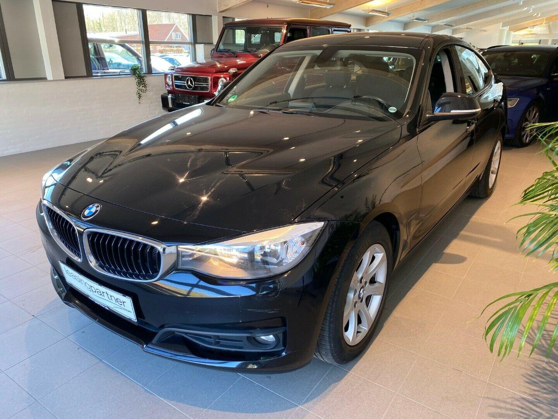 BMW 320d 2,0 Gran Turismo 5d, Sort