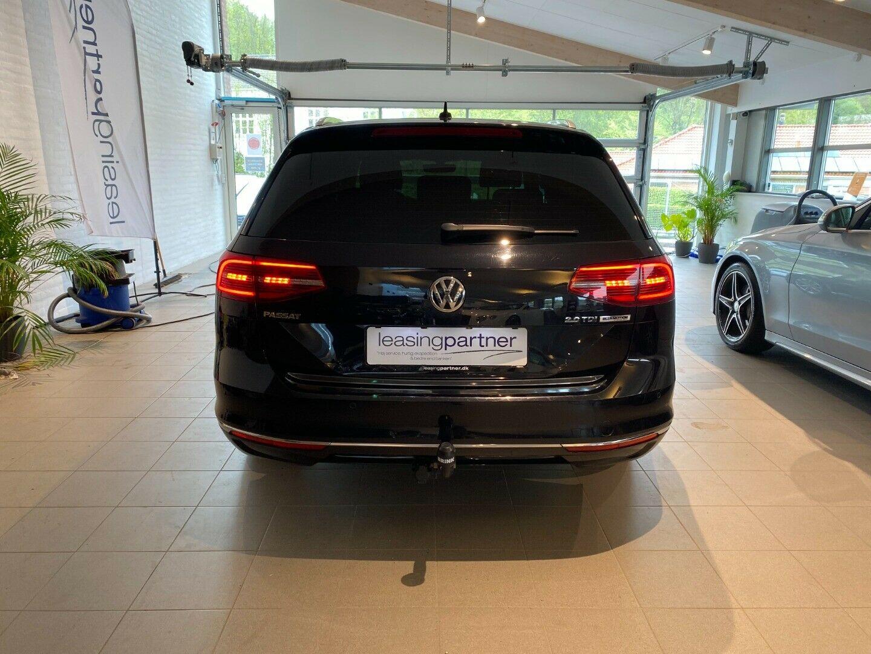 VW Passat 2,0 TDi 150 Comfortline Variant DSG 5d, Sort