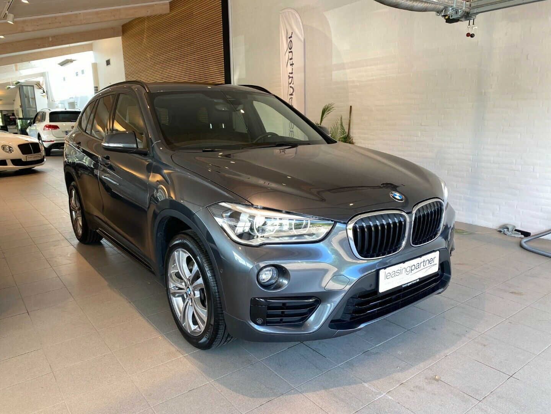 BMW X1 2,0 xDrive20d aut. 5d, Grå