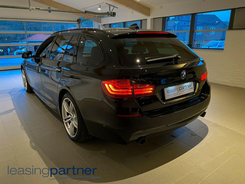 BMW 535d 3,0 Touring xDrive aut. 5d, Sortmetal
