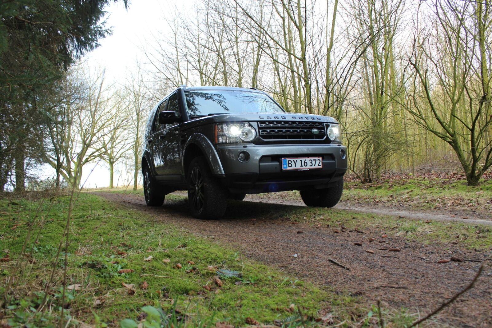 Land Rover Discovery 4 3,0 SDV6 HSE aut. 5d, Mørkgrå