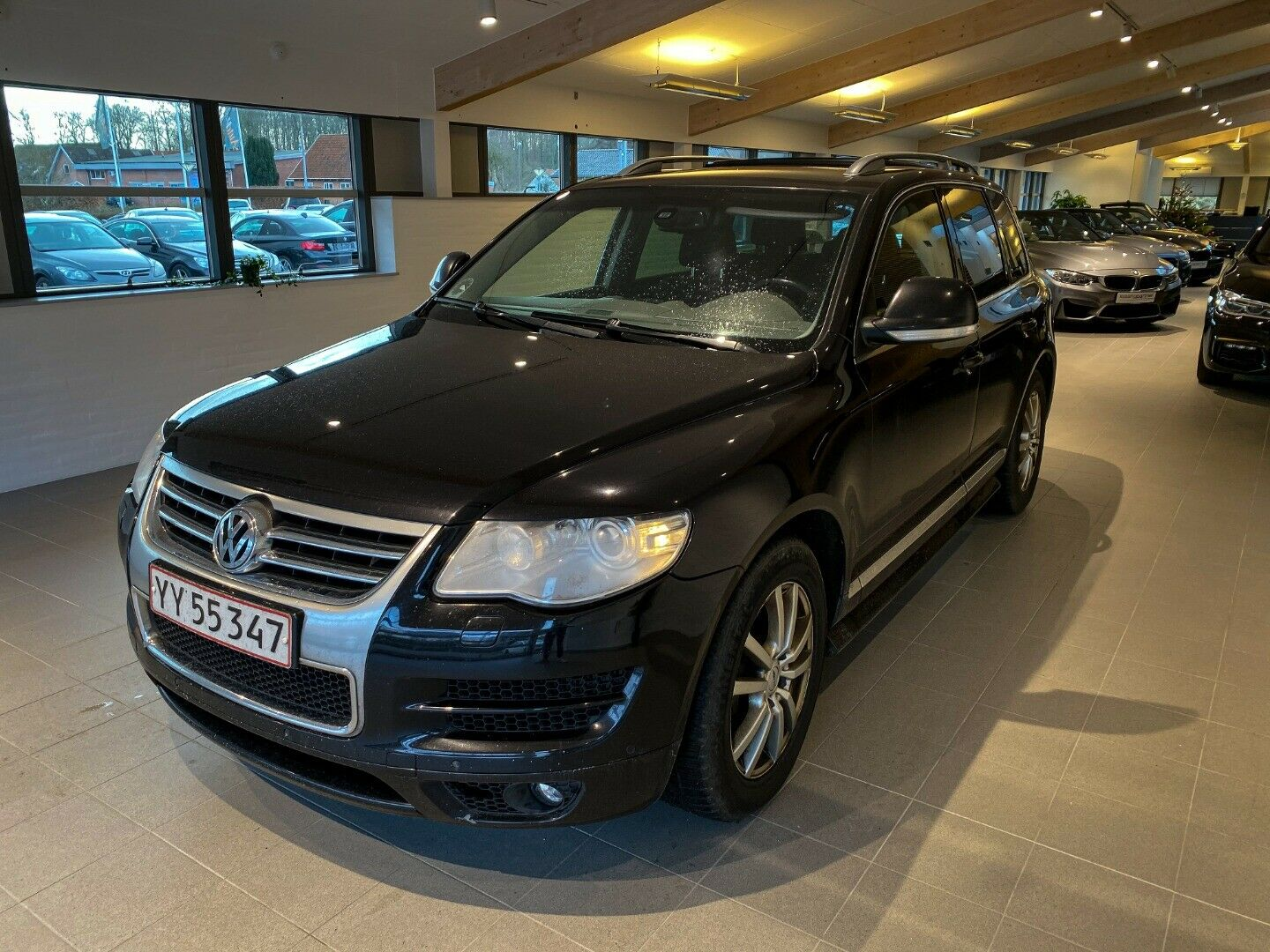 VW Touareg 3,0 TDi Tiptr. 5d, Sort
