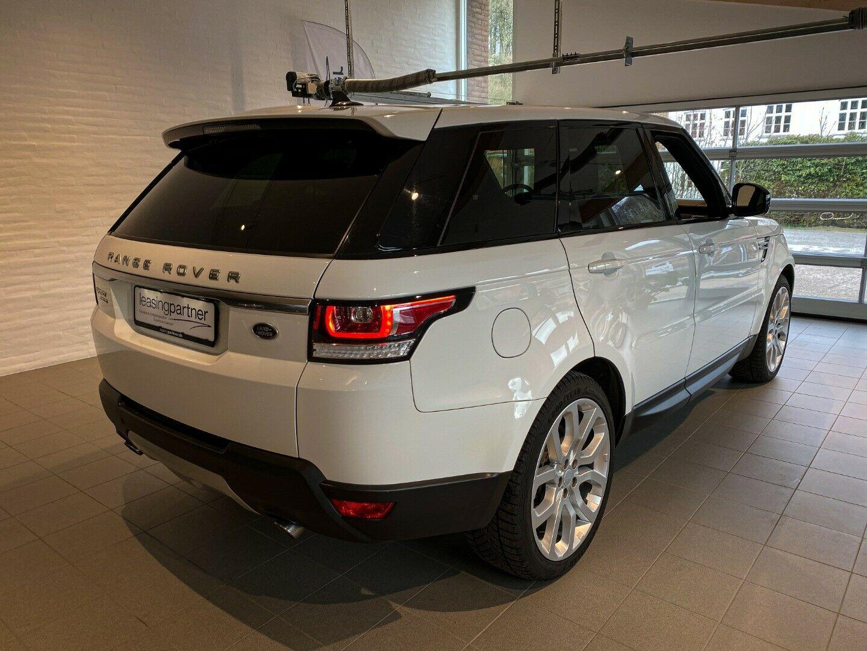 Land Rover Range Rover Sport 3,0 Hybrid HSE aut. 5d, Hvid