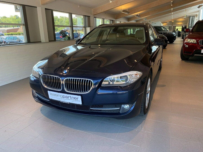 BMW 520d 2,0 Touring aut. 5d, Blåmetal