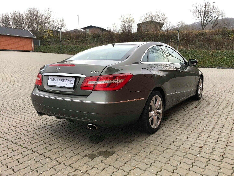 Mercedes E350 3,0 CDi Coupé aut. BE 2d, Grønmetal