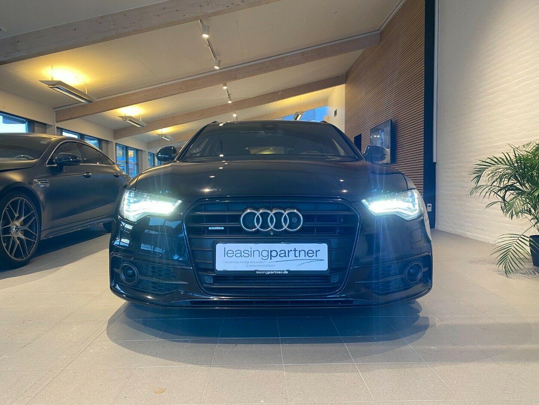 Audi A6 3,0 TDi 313 S-line Avant quat Tipt 5d, Sort