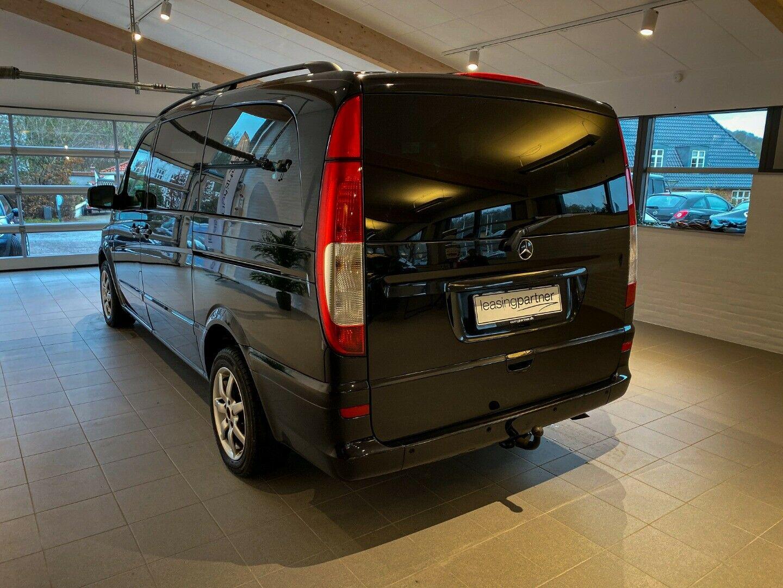 Mercedes Vito 122 3,0 CDi Kombi aut. L 4d, Sort