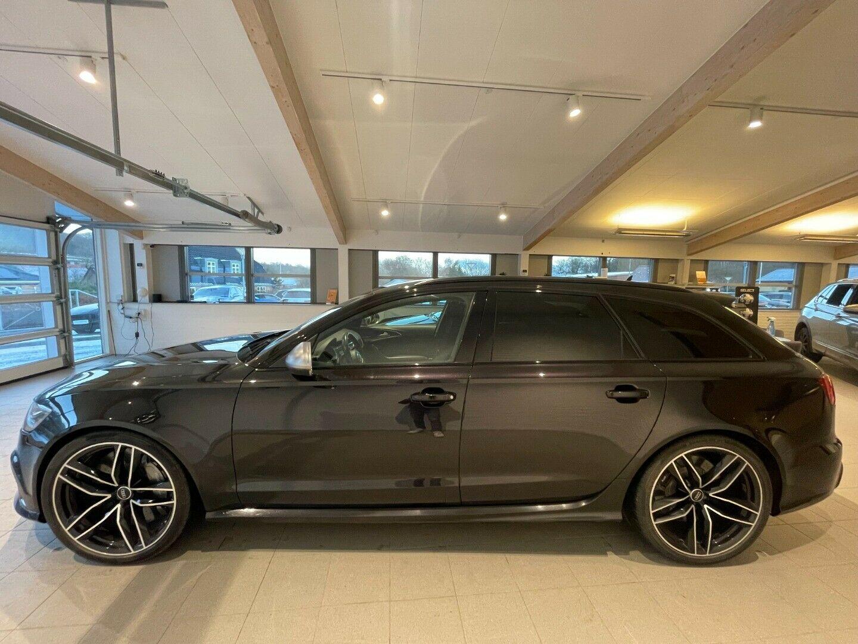Audi RS6 4,0 TFSi performance Avant quattro 5d, Sort