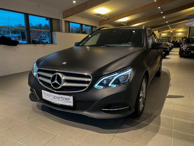 Mercedes E220 2,2 CDi Elegance aut. 4d, Sort