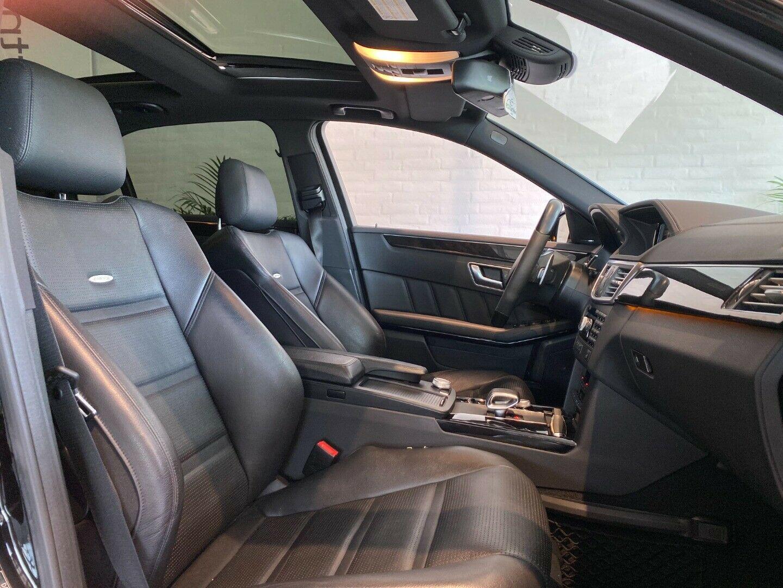 Mercedes E63 5,5 AMG aut. 4d, Sort