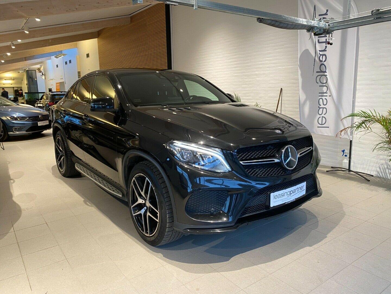 Mercedes GLE350 d 3,0 Coupé aut. 4Matic 5d, Sort