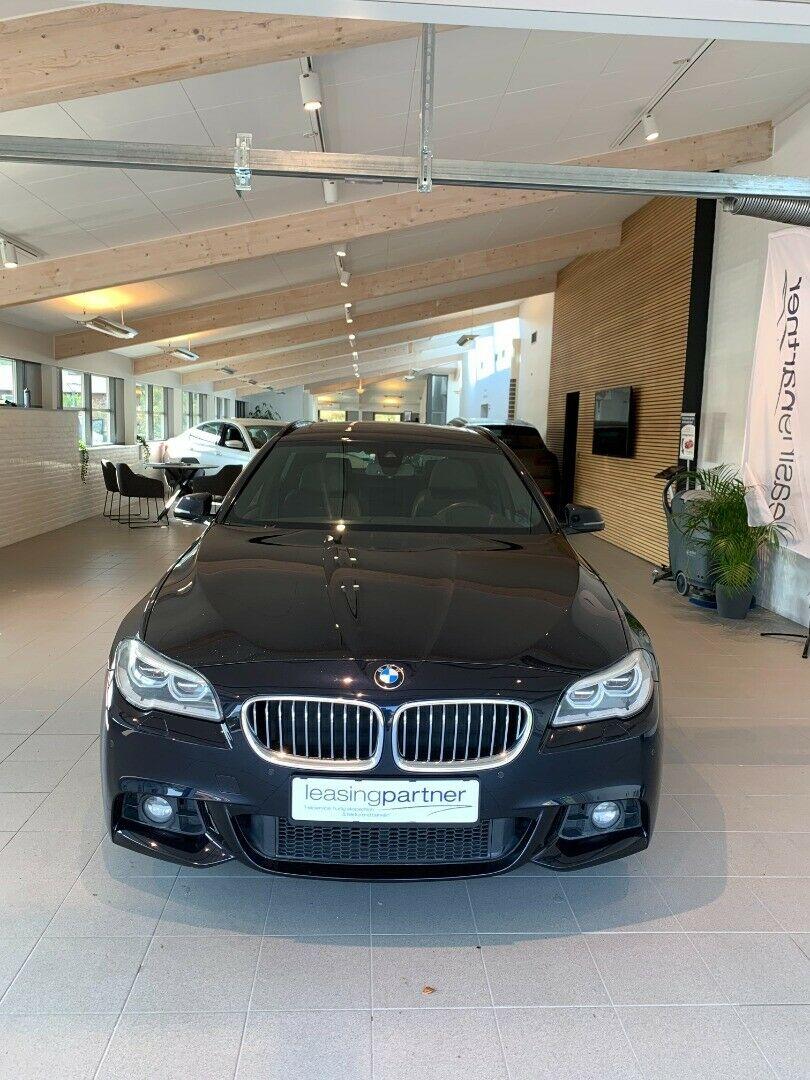 BMW 530d 3,0 Touring M-Sport xDrive aut. 5d, Mørkblå