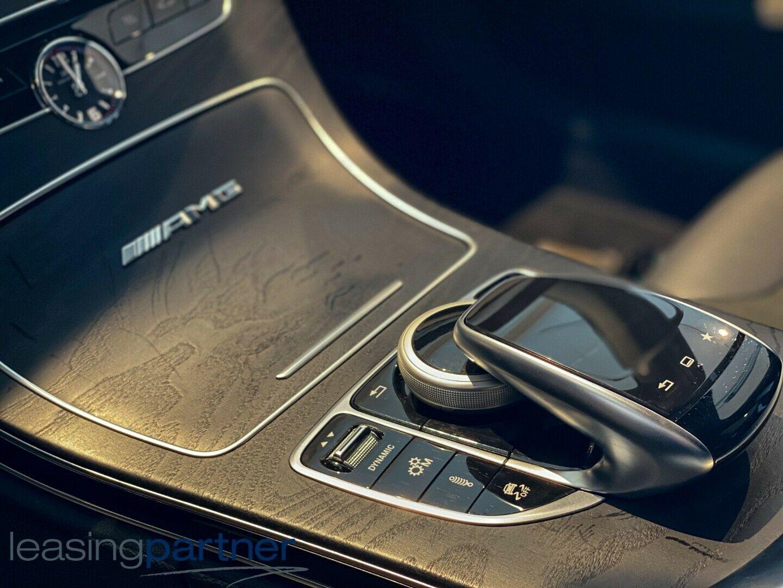 Mercedes C63 4,0 AMG S stc. aut. 5d, Sortmetal