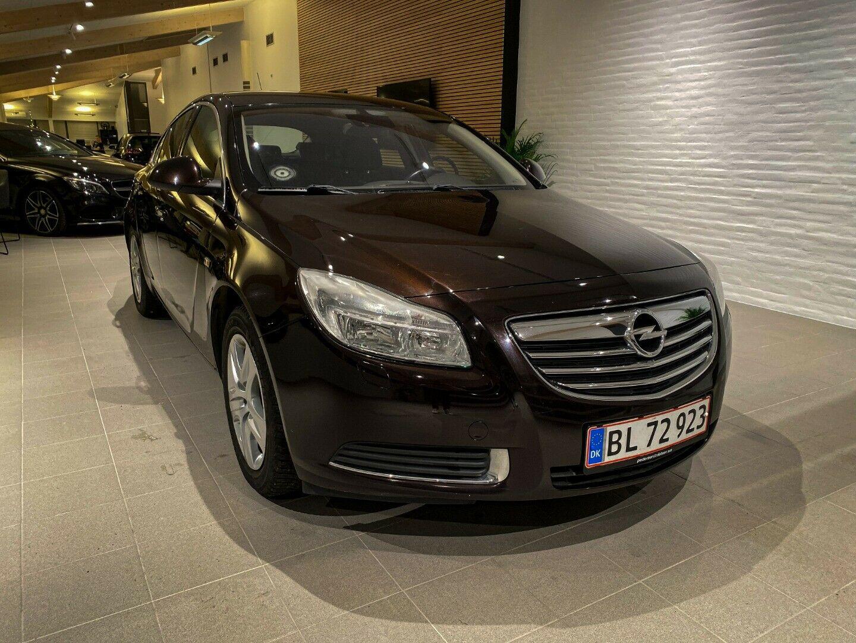 Opel Insignia 2,0 CDTi 130 Edition eco 4d, Brunmetal
