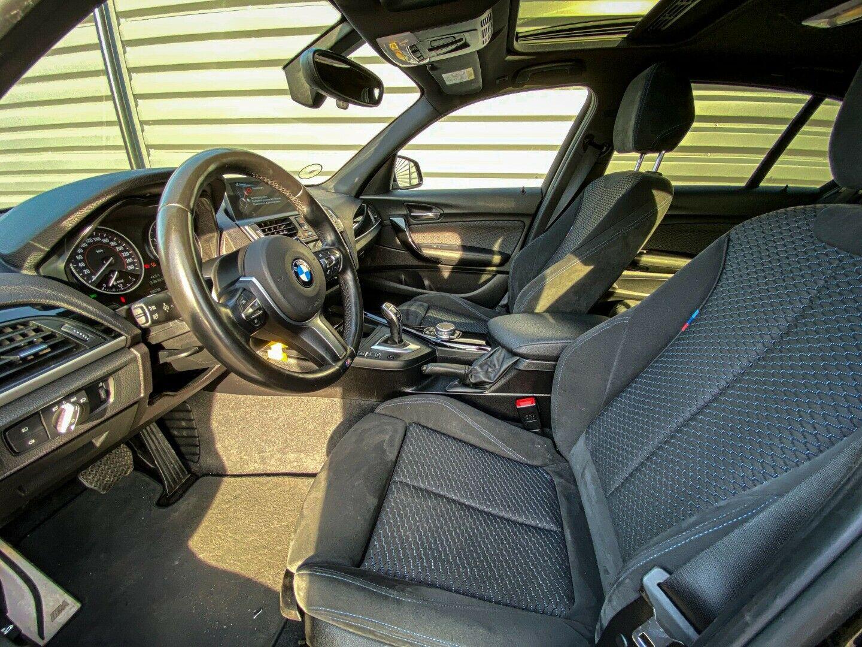 BMW 120d 2,0 M-Sport aut. 5d, Sort