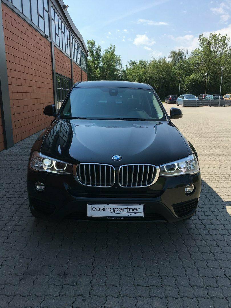 BMW X3 3,0 xDrive30d aut. 5d, Sort