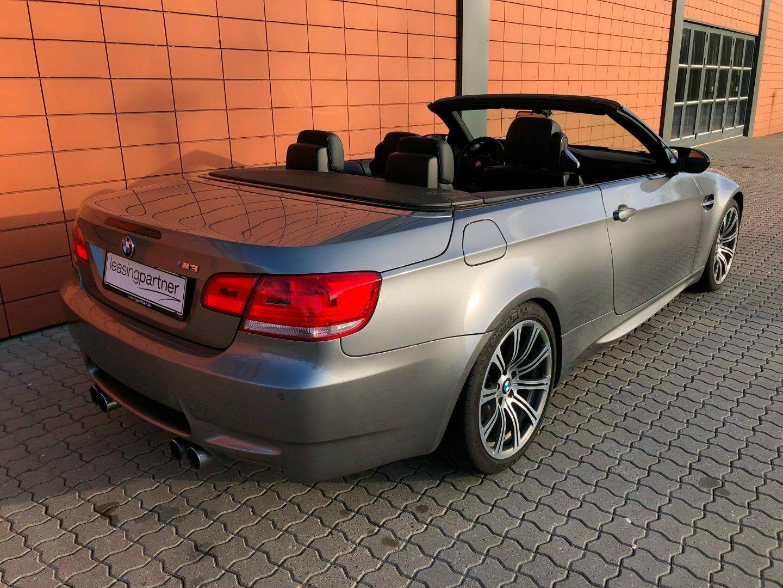 BMW M3 4,0 Cabriolet DKG 2d, Gråmetal