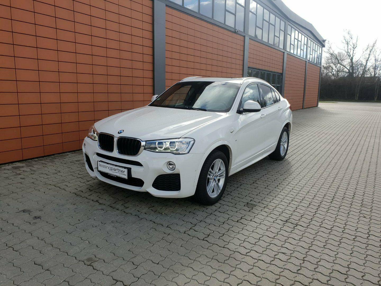 BMW X4 2,0 xDrive20d 5d, Hvidmetal