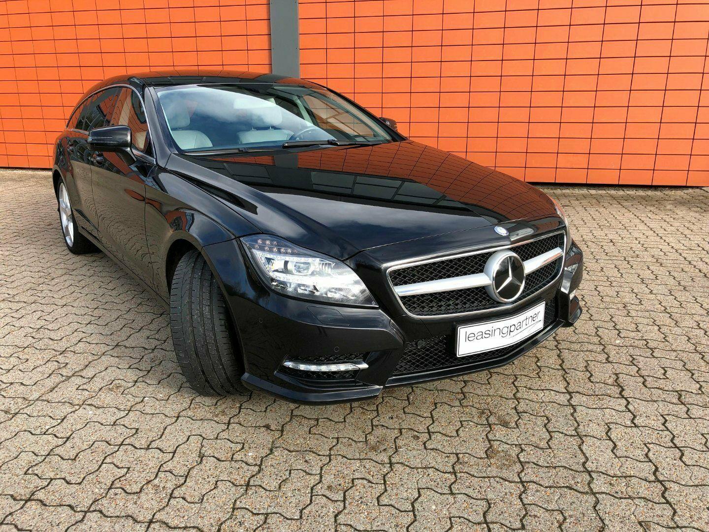 Mercedes CLS350 3,0 CDi AMG Line SB aut. 4-M 5d, Sort