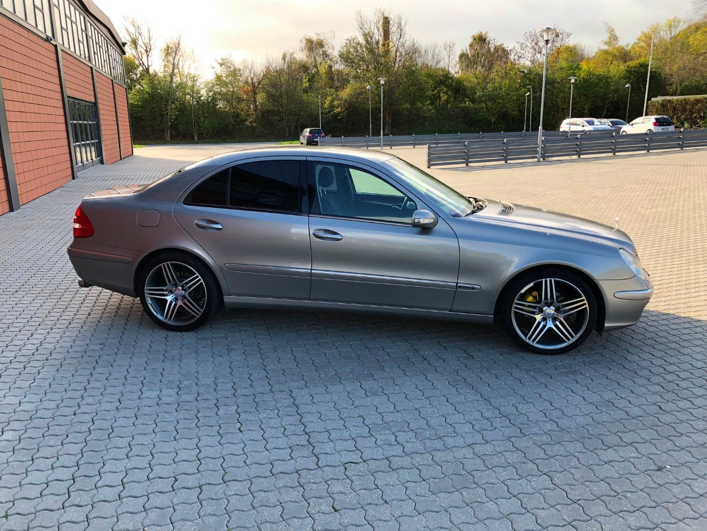 Mercedes E280 3,2 CDi Elegance aut. 4d, Mørkgrå