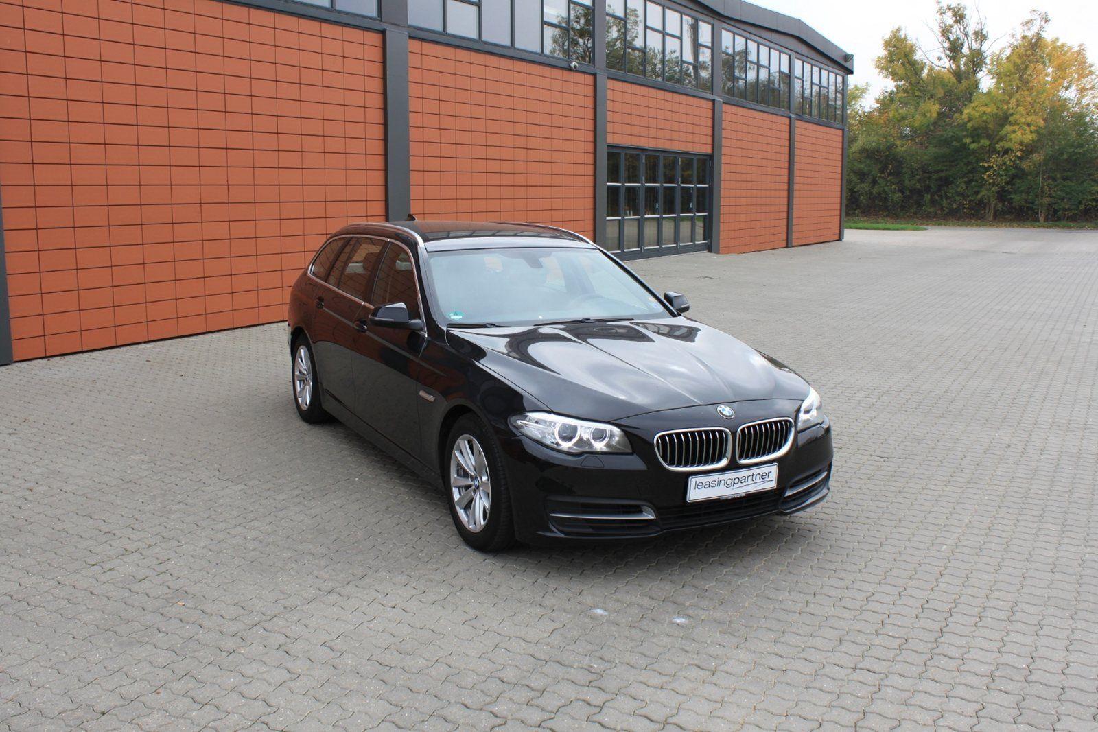 BMW 520d 2,0 Touring aut. 5d, Sortmetal