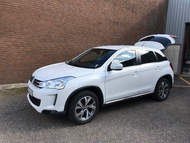 Citroën C4 Aircross 1,8 HDi 150 Seduction 5d, Hvidmetal