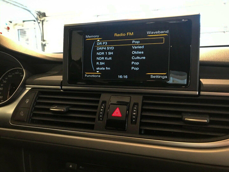 Audi A6 2,0 TDi 136 Avant Multitr. 5d, Sort
