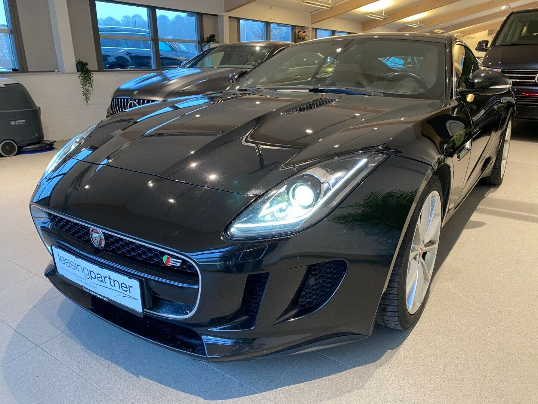Jaguar F-Type 3,0 S/C S Coupé aut. 2d, Sortmetal