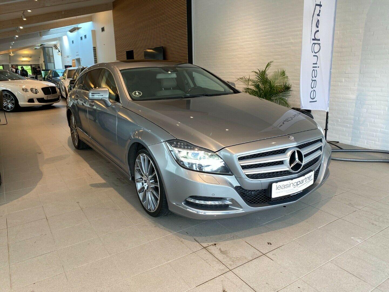 Mercedes CLS350 3,0 CDi Shooting Brake aut. BE 5d, Grå