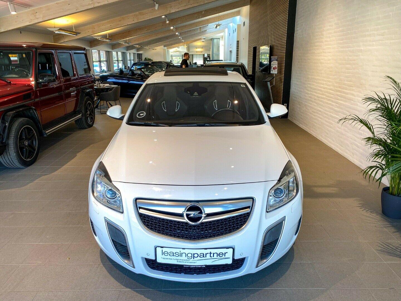 Opel Insignia 2,8 OPC aut. 4×4 4d, Hvid
