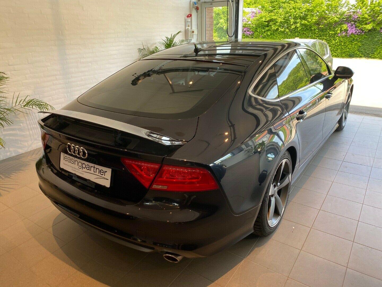Audi A7 3,0 TDi 204 SB Multitr. 5d, Sort