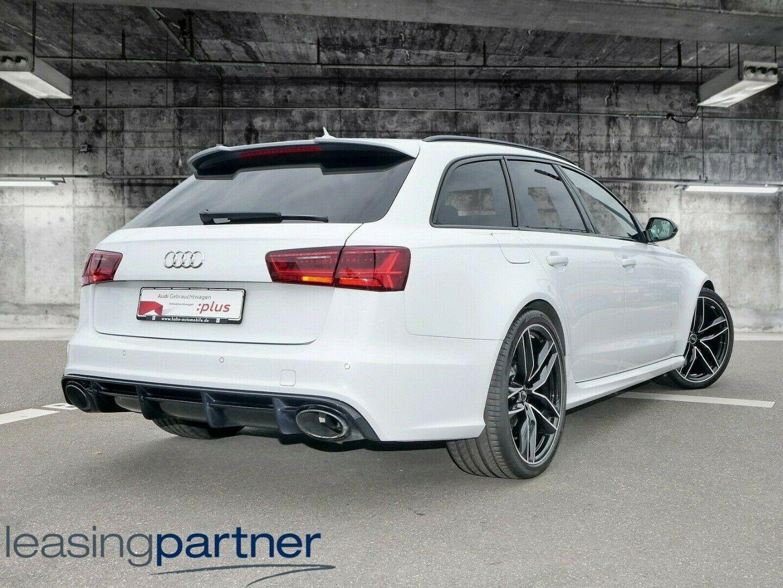 Audi RS6 4,0 TFSi performance Avant quattro 5d, Hvid