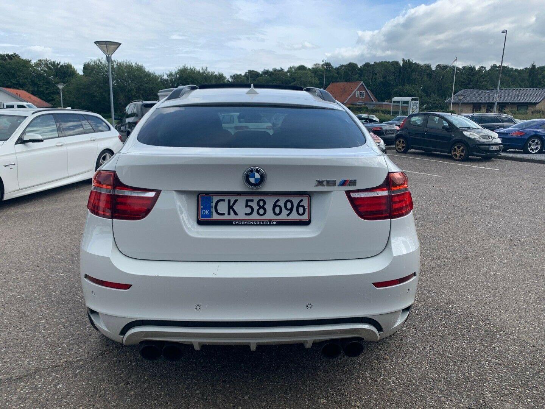 BMW X6 4,4 M aut. 5d, Hvid